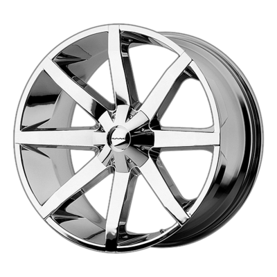 KMC SLIDE 20x8.5 6x135.00/6x139.70 CHROME (10 mm)