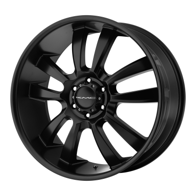 KMC SKITCH 20x8.5 6x139.70 SATIN BLACK (15 mm)
