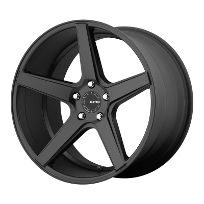 KMC DISTRICT 19x8.5 5x120.00 SATIN BLACK (35 mm)