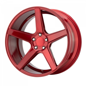 KMC DISTRICT 19x8.5 5x120.00 CANDY RED (35 mm)