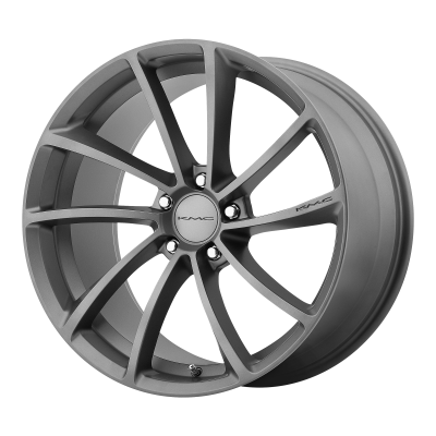 KMC SPIN 19x9.5 5x120.00 GUN METAL (35 mm)