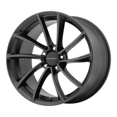 KMC SPIN 18x8 5x120.00 SATIN BLACK (35 mm)