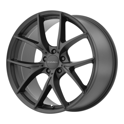 KMC WISHBONE 18x8 5x120.00 SATIN BLACK (35 mm)