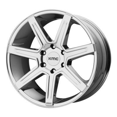 KMC REVERT 24x9.5 6x139.70 CHROME (38 mm)
