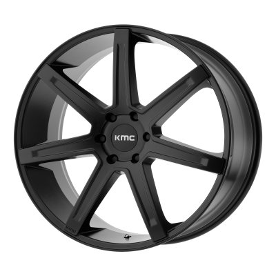 KMC REVERT 20x9 6x139.70 SATIN BLACK (35 mm)