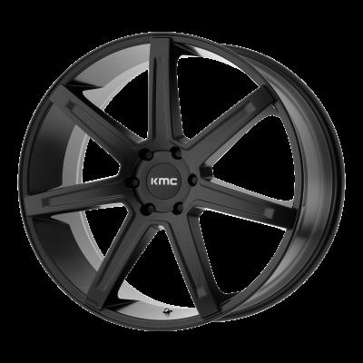 KMC REVERT 20x9 6x139.70 SATIN BLACK (35 mm)