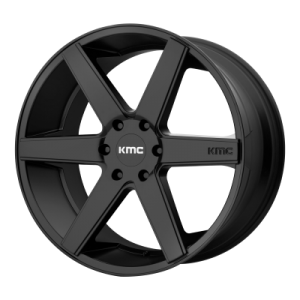 KMC DISTRICT TRUCK 24x9 6x139.70 SATIN BLACK (30 mm)