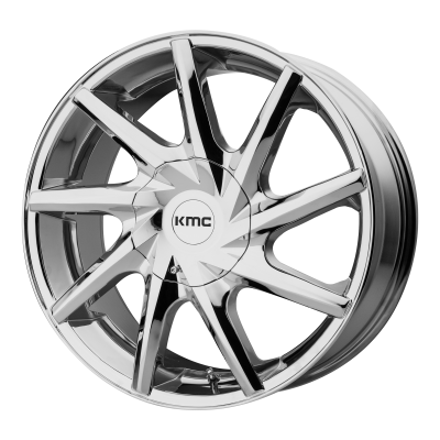KMC BURST 20x8.5 6x135.00/6x139.70 CHROME (15 mm)
