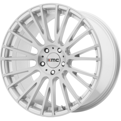 KMC IMPACT 18x8 5x120.00 BRUSHED SILVER (38 mm)