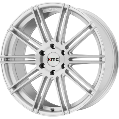 KMC CHANNEL 20x9 6x139.70 BRUSHED SILVER (30 mm)