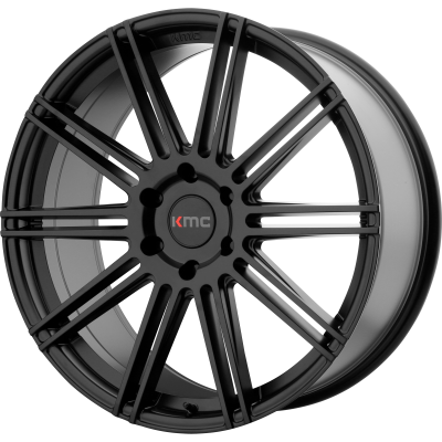 KMC CHANNEL 20x9 6x139.70 SATIN BLACK (30 mm)