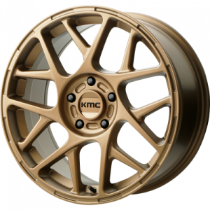 KMC BULLY 18x8 5x120.00 MATTE BRONZE (38 mm)