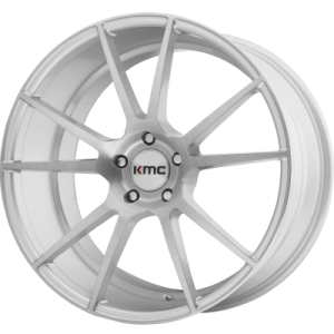 KMC FLUX 20x8.5 5x120.00 BRUSHED SILVER (35 mm)