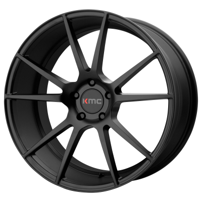 KMC FLUX 20x8.5 5x120.00 SATIN BLACK (35 mm)