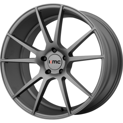 KMC FLUX 20x8.5 5x120.00 CHARCOAL (35 mm)