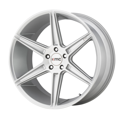 KMC PRISM 20x9 5x120.00 BRUSHED SILVER (35 mm)