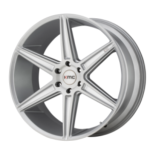 KMC PRISM TRUCK 20x9 6x139.70 BRUSHED SILVER (30 mm)