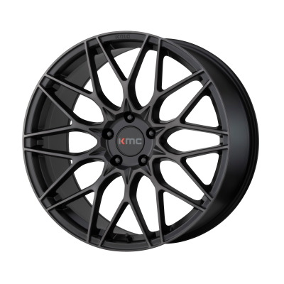KMC ALKALINE 20x8.5 5x120.00 PHANTOM BLACK (40 mm)