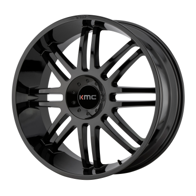 KMC REGULATOR 20x9 6x135.00/6x139.70 GLOSS BLACK (30 mm)