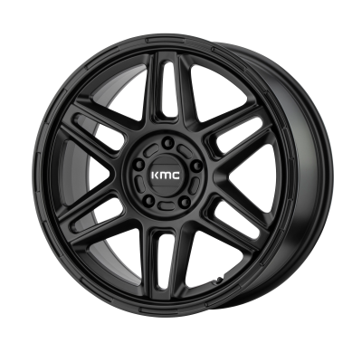 KMC NOMAD 18x8 5x120.00 SATIN BLACK (38 mm)