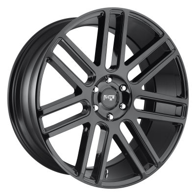 NICHE ELAN 24x10 6x139.70 GLOSS BLACK (30 mm)