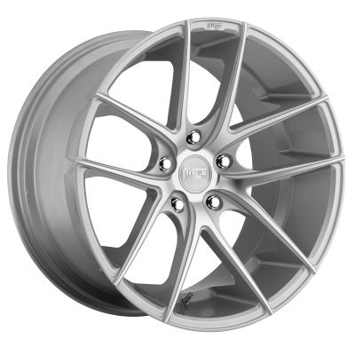 NICHE TARGA 20x8.5 5x112.00 GLOSS SILVER MACHINED (34 mm)  M131208543+34