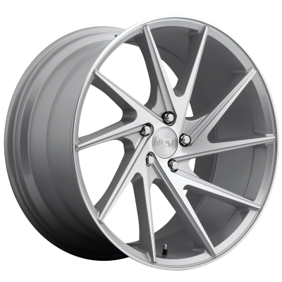 NICHE INVERT 20x9 5x120.00 GLOSS SILVER MACHINED (35 mm)