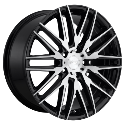 NICHE ANZIO 22x10.5 5x120.00 GLOSS BLACK BRUSHED (40 mm)  M165220521+40