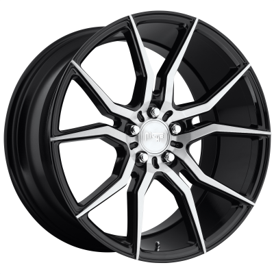 NICHE ASCARI 19x9.5 5x120.00 GLOSS BLACK BRUSHED (35 mm)  M166199521+35