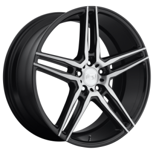 NICHE TURIN 20x9 5x114.30 MATTE BLACK MACHINED (35 mm)  M169209065+35