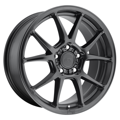 NICHE MESSINA 18x8 5x112.00 MATTE BLACK (40 mm)  M174188043+40
