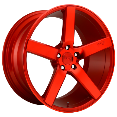 NICHE MILAN 20x8.5 5x120.00 CANDY RED (35 mm)  M187208521+35
