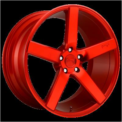 NICHE MILAN 20x10.5 5x120.00 CANDY RED (35 mm)