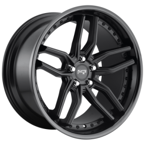 NICHE METHOS 20x9 5x120.00 GLOSS BLACK MATTE BLACK (35 mm)