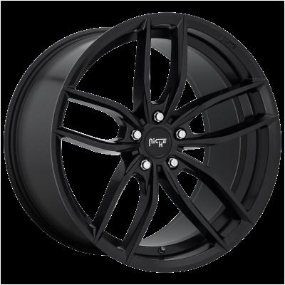 NICHE VOSSO 20x11 5x120.00 MATTE BLACK (35 mm)  M203201121+35