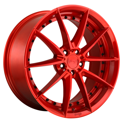 NICHE SECTOR 20x9 5x120.00 CANDY RED (35 mm)
