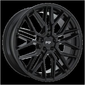 NICHE GAMMA 22x10.5 5x114.30 GLOSS BLACK (40 mm)  M224220565+40