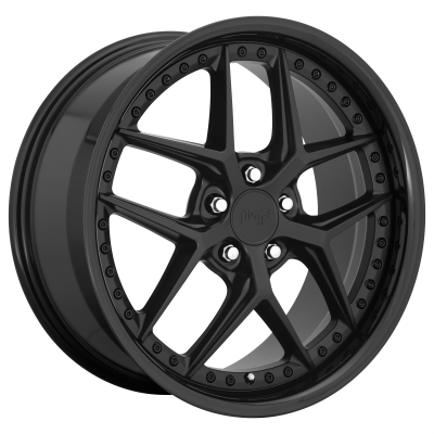 NICHE VICE 20x9 5x120.00 GLOSS BLACK MATTE BLACK (35 mm)