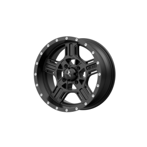 MSA AXE 18x7 4x137.00 SATIN BLACK (0 mm)  M32-08737