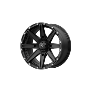 MSA CLUTCH 16x7 4x137.00 SATIN BLACK (10 mm)  M33-06737