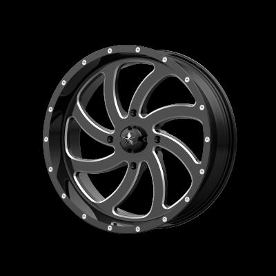 MSA SWITCH 24x7 4x156.00 GLOSS BLACK MILLED (0 mm)