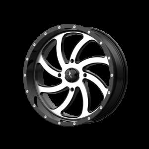 MSA SWITCH 24x7 4x137.00 MACHINED GLOSS BLACK (0 mm)  M36-024737