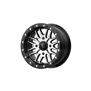 MSA BRUTE BEADLOCK 16x7 4x137.00 GLOSS BLACK MACHINED (10 mm)  M37-06737