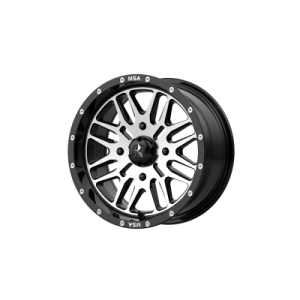 MSA BRUTE 24x7 4x137.00 GLOSS BLACK MACHINED (10 mm)  M38-024737