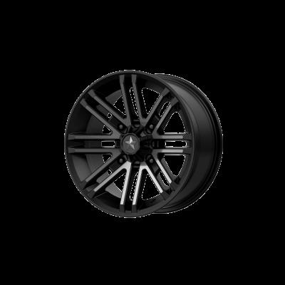 MSA ROGUE 16x7 4x156.00 SATIN BLACK W/ TITANIUM TINT (10 mm)