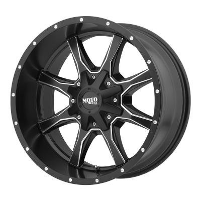MOTO METAL MO970 18x9 8x180.00 SATIN BLACK MILLED (18 mm)
