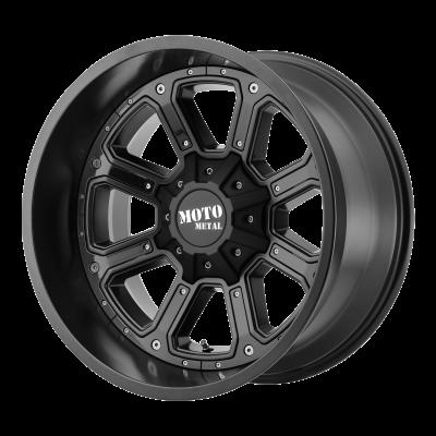 MOTO METAL SHIFT 20x9 8x180.00 MATTE BLACK W/ G-BLK INSERTS (18 mm)