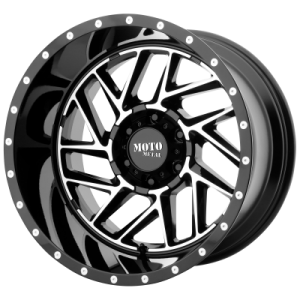 MOTO METAL BREAKOUT 20x9 8x180.00 GLOSS BLACK MACHINED (18 mm)
