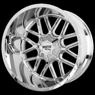 MOTO METAL SIEGE 20x9 8x180.00 CHROME (18 mm)