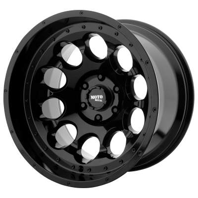 MOTO METAL ROTARY 17x9 8x170.00 GLOSS BLACK (-12 mm)